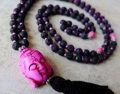 Lava Rock Prayer Beads  #yoga