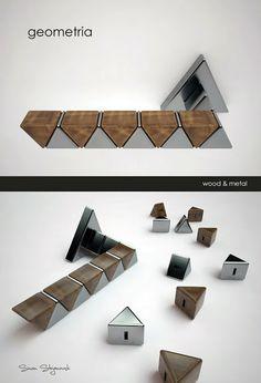 Creative Geometria Custom Door Handle by Simon Stojanovski