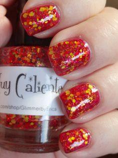 Glimmer by Erica Muy Caliente over Zoya Posh