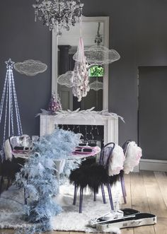 then take a look at this ballet inspired christmas scheme christmas decorating ideasholiday - Modern Christmas Decorating Ideas