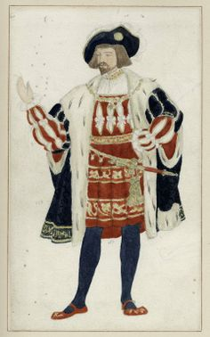 Watercolor drawing for costume of King of Navarre in Augustin Daly's production of Love's Labour's Lost. Shakespeare Plays, William Shakespeare, Love's Labour's Lost, 1 Kings, Watercolor Drawing, Children's Book Illustration, Illustrations And Posters, Digital Image, Art Boards