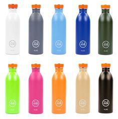 sowohl Flasche als auch Verschluss sind zu 100 % recyclebar