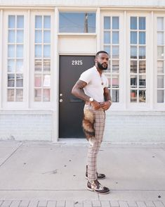"""Rational Sophistication on Instagram: """"Brown Tones on a Brown Man 💼  SideNote: never out dress your date keep it simple  Boots : @colorstyofficial"""" Fine Black Men, Keep It Simple, Harem Pants, Sporty, Photo And Video, Brown, Fashion Ideas, Instagram, Videos"""