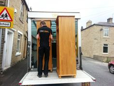 Moving wardrobes is about resourcefulness, patience and preparation - www.1van1man.com