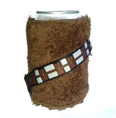 Licensed Furry Chewbacca Wookie Star Wars Cold Can Cooler Gifts For Beer Lovers, Gift For Lover, Stretch Armstrong, Glow Stick Party, Disney Sign, Star Wars Merchandise, Disney Couples, Disney Crafts, Chewbacca