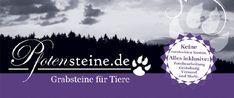 Pfotensteine - Grabschmuck für Tiere