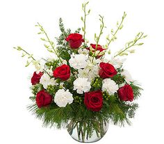 Order Winter Gala From Schneider S Florist Your Local Springfield For Fresh And Fast Flower Delivery Throughout Oh Area