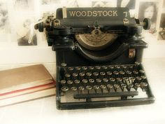 Vintage typewriters look good anywhere and everywhere.