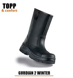 Cizma neagra cu protectie Focus Guardian 2 imblanite Guardians 2, Rubber Rain Boots, Winter, Shoes, Fashion, Winter Time, Moda, Zapatos, Shoes Outlet