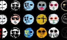 The Hollywood Undead Masks