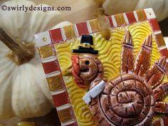 cool way to make a turkey...spiral
