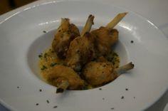 chupa chups de pollo en El Apartamento, Calle de Ventura de la vega Madrid