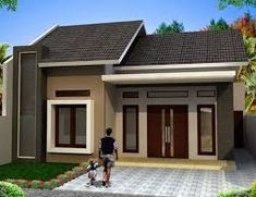 41 Simple Minimalist 1 Floor Model Homes -As we know that how to choose the latest home design models that we are always looking for buildin. Basement House Plans, Duplex House Plans, Bungalow House Plans, Bungalow House Design, Small House Design, Modern House Design, Modern Minimalist House, Small Modern Home, Roof Design