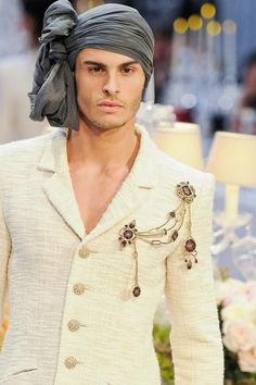 Baptiste Giabiconi in Chanel Pre Fall 2011 2012