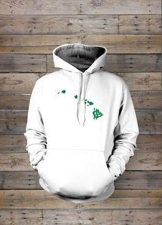 Hawaii Stately Hooded Sweatshirt by TheStatelyShirtCo