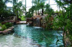 Entrance into Lagoon Pool | by lucas congdon