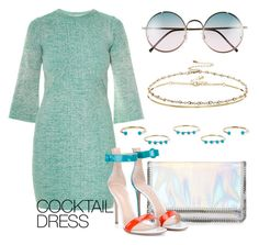 """""""Cocktail Dress"""" by may-calista ❤ liked on Polyvore featuring STELLA McCARTNEY, Isabel Marant, Gianvito Rossi, ASOS, Spitfire and cocktaildress"""