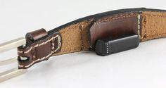 Brown-FitBit Flex Leather Bracelet Fit by DeSantisLeatherGoods