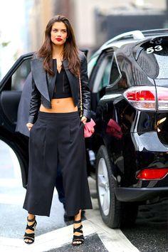 Место действия Нью-Йорк: 250 стритстайл-образов гостей Недели моды
