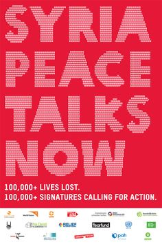 Thanks to support from people like you in over 150 countries, Oxfam and partners have now gathered over 100,000 signatures calling for urgent progress on Syria peace talks. That's roughly equivalent to one for every man, woman and child killed in the conflict to date. We asking @charles elliott elliott Thurgood @MFA_Russia @LakhdarBrahimi set a date for #SyriaPeaceTalks. www.change.org/petitions/don-t-let-syria-down