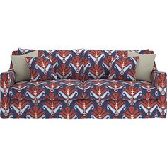 Verano Slipcovered Sofa in Sofas | Crate and Barrel $2000