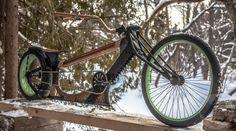 Mix wooden bike #taobike