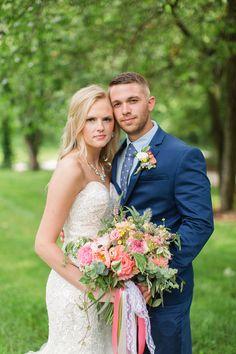 An Intimate Backyard Wedding | Waterloo, Illinois