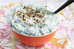 Watergate Salad (aka 'Green Stuff') [Ezra Pound Cake] @Katie Lickteig Reminds me of our Jell-O conversation.