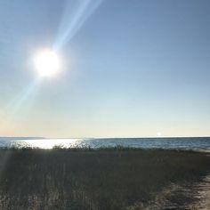 Primeiro feriado no estilo canadense de curtir praia :D