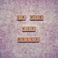 La Vie Est Belle Art Print by Retro Love Photography | Society6