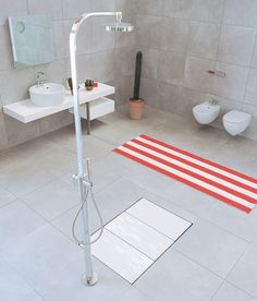 TATAMI - Designer Shower trays from Ceramica Flaminia ✓ all information ✓ high-resolution images ✓ CADs ✓ catalogues ✓ contact information ✓. Minimalist Design, Bath Mat, Bathtub, Interior Design, Showers, Shower Trays, Surface, Home Decor, Check