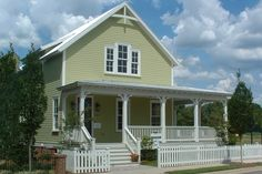 Farmhouse Front Elevation Plan #464-7 - Houseplans.com