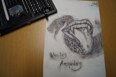 Kohlestift zeichnung made by Wunderdings-Kathi Gmeis// idee Unbekannt Messages, Artist, Soapstone, Do Your Thing, Crafts, Do Crafts, Artists