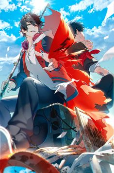 Manga Anime, Anime Art, Character Art, Character Design, Male Pose Reference, Beauty Illustration, Rap Battle, Male Poses, Ensemble Stars
