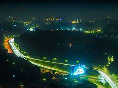 Enjoying Kuala Lumpur night sights  #longexposureoftheday #longexposure_shots #olympusphotography #olympusomdem5markii #nightphotography #cityphotography #photooftheday #hiltondiamond Night Sights, City Photography, Kuala Lumpur, Business Travel, Olympus, Sci Fi, Shots, Fair Grounds, Fun