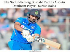 Rishabh Pant is a good player for me. I love watching him bat. His batting style is as impressive as that of Sachin, Sehwag, Yuvraj, and Dravid. Fantasy Tips, Upcoming Matches, Sports Update, Best Player, World Cup, Cricket, Baseball Cards, My Love, Pants