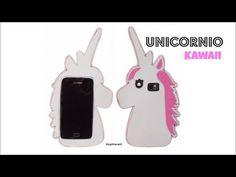 Cómo hacer una funda o carcasa para el móvil - Unicornio Kawaii - YouTube