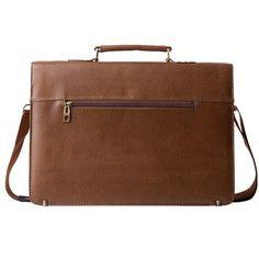 Leather High Quality Laptop Office Bag Lawyer Messenger Handbag