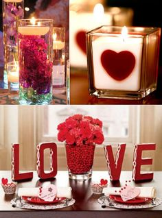 32 cool & beautiful decorating ideas for a #wedding or romantic occasion!