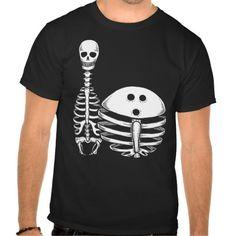 bcfc7026a Bowling Skeletons Shirt T-Shirt