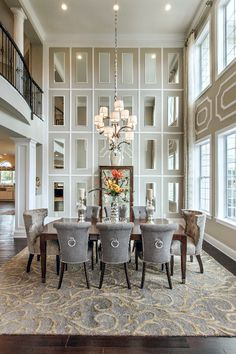 19 Graceful Dining Room Designs To Serve You As Inspiration Mirror Walldining Wall Decor