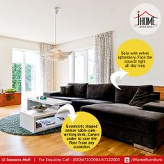 Everything has a place for it! A home that speaks your mind! Keep the alignment right.   #iHome #Furniture #ArtisticLiving #Pune