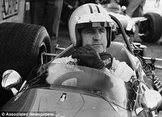 Despite winning the 1967 world title with Brabham, Hulme joined the team of fellow Kiwi Bruce McLaren the following year