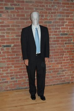 Halloween Costume Idea - Slenderman