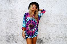 Tripped Out Tie Dye Shirt | ratandboa