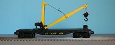 Lionel 6-9236 Chicago & North Western Manually-Operated Derrick Car