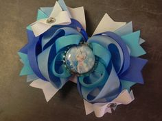 Periwinkle Boutique Layered Bottle Cap Hair by sweetteabowtique, $7.50