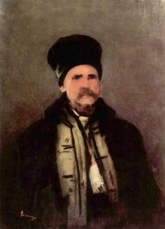 Gebirgsbewohner by Nicolae Grigorescu Impressionism, New Art, Painter, Famous Artists, Portraiture, Painting, Art Historian, Portrait, Artwork Painting