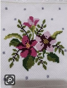 Cross Stitch Heart, Cross Stitch Borders, Cross Stitch Flowers, Cross Stitch Kits, Cross Stitch Designs, Cross Stitch Patterns, Folk Embroidery, Cross Stitch Embroidery, Fabric Bags