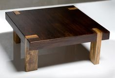 Solid Wood Chunky Contemporary Rustic Coffee Table - Coffee Tables - by Kathy Ku. - Solid Wood Chunky Contemporary Rustic Coffee Table – Coffee Tables – by Kathy Kuo Home - Rustic Square Coffee Table, Coffee Table Design, Home Decor Furniture, Wood Furniture, Furniture Design, Contemporary Coffee Table, Rustic Contemporary, Cool Tables, Cool Coffee Tables
